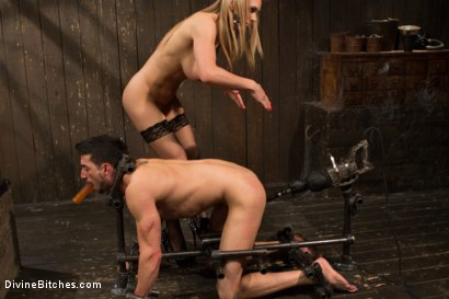 Photo number 8 from British bombshell, Tanya Tate gives douche bag club dude a lesson! shot for Divine Bitches on Kink.com. Featuring Tanya Tate and Casey More in hardcore BDSM & Fetish porn.