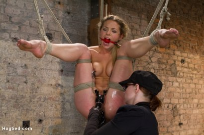 Photo number 6 from Mega Hottie Dahlia Sky shot for Hogtied on Kink.com. Featuring Dahlia Sky in hardcore BDSM & Fetish porn.