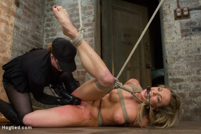 Photo number 3 from Mega Hottie Dahlia Sky shot for Hogtied on Kink.com. Featuring Dahlia Sky in hardcore BDSM & Fetish porn.