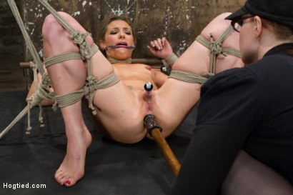 Photo number 12 from Mega Hottie Dahlia Sky shot for Hogtied on Kink.com. Featuring Dahlia Sky in hardcore BDSM & Fetish porn.