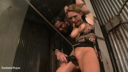 Photo number 15 from Hardcore Suffering and Brutal Orgasms shot for Sadistic Rope on Kink.com. Featuring Rain DeGrey in hardcore BDSM & Fetish porn.