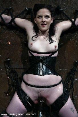 Photo number 9 from Caroline Pierce shot for Fucking Machines on Kink.com. Featuring Caroline Pierce in hardcore BDSM & Fetish porn.