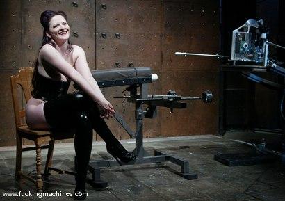 Photo number 1 from Caroline Pierce shot for Fucking Machines on Kink.com. Featuring Caroline Pierce in hardcore BDSM & Fetish porn.