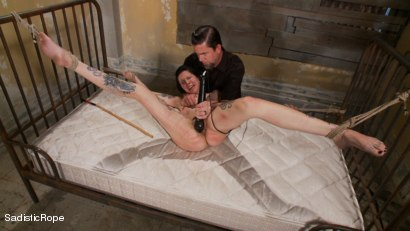 Photo number 15 from Reigning Chaos on Krysta shot for Sadistic Rope on Kink.com. Featuring Krysta Kaos and The Pope in hardcore BDSM & Fetish porn.