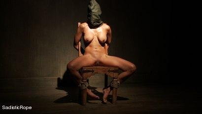 Photo number 2 from Slut Interrogation shot for Sadistic Rope on Kink.com. Featuring Beretta James in hardcore BDSM & Fetish porn.