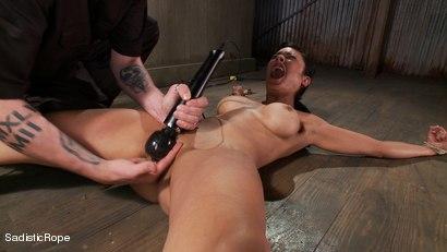 Photo number 15 from Slut Interrogation shot for Sadistic Rope on Kink.com. Featuring Beretta James in hardcore BDSM & Fetish porn.