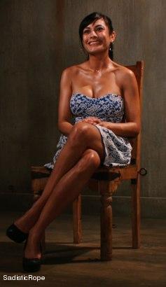 Photo number 16 from Slut Interrogation shot for Sadistic Rope on Kink.com. Featuring Beretta James in hardcore BDSM & Fetish porn.