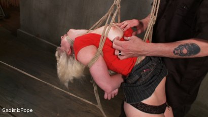 Photo number 2 from The Destruction of Cherry Torn shot for Sadistic Rope on Kink.com. Featuring Cherry Torn in hardcore BDSM & Fetish porn.