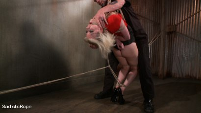 Photo number 1 from The Destruction of Cherry Torn shot for Sadistic Rope on Kink.com. Featuring Cherry Torn in hardcore BDSM & Fetish porn.