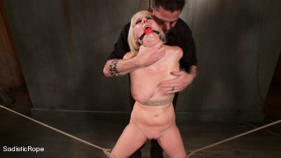 Photo number 4 from The Destruction of Cherry Torn shot for Sadistic Rope on Kink.com. Featuring Cherry Torn in hardcore BDSM & Fetish porn.