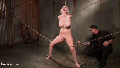 Photo number 5 from The Destruction of Cherry Torn shot for Sadistic Rope on Kink.com. Featuring Cherry Torn in hardcore BDSM & Fetish porn.