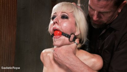Photo number 6 from The Destruction of Cherry Torn shot for Sadistic Rope on Kink.com. Featuring Cherry Torn in hardcore BDSM & Fetish porn.