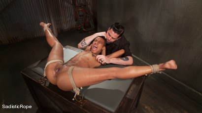Photo number 12 from Total Domination shot for Sadistic Rope on Kink.com. Featuring Nikki Darling in hardcore BDSM & Fetish porn.