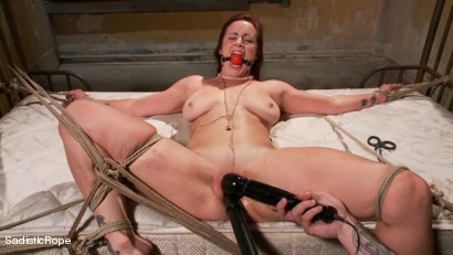 Photo number 11 from Helpless Whore's Suffering shot for Sadistic Rope on Kink.com. Featuring Bella Rossi in hardcore BDSM & Fetish porn.