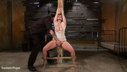 Photo number 1 from Helpless Whore's Suffering shot for Sadistic Rope on Kink.com. Featuring Bella Rossi in hardcore BDSM & Fetish porn.