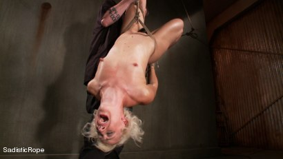 Photo number 11 from Tall Blond Bombshell Taken Down shot for Sadistic Rope on Kink.com. Featuring Dylan Ryan in hardcore BDSM & Fetish porn.