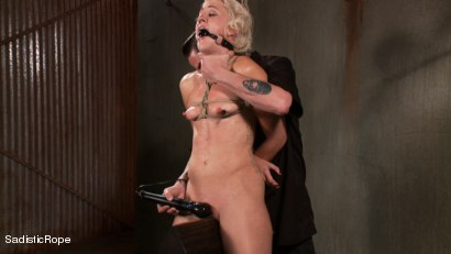Photo number 13 from Tall Blond Bombshell Taken Down shot for Sadistic Rope on Kink.com. Featuring Dylan Ryan in hardcore BDSM & Fetish porn.