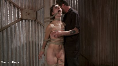 Photo number 3 from How Far Will She Go? shot for Sadistic Rope on Kink.com. Featuring Kristine Kahill in hardcore BDSM & Fetish porn.