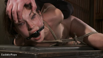 Photo number 12 from How Far Will She Go? shot for Sadistic Rope on Kink.com. Featuring Kristine Kahill in hardcore BDSM & Fetish porn.