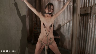 Photo number 14 from How Far Will She Go? shot for Sadistic Rope on Kink.com. Featuring Kristine Kahill in hardcore BDSM & Fetish porn.