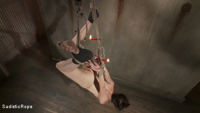 Photo number 5 from How Far Will She Go? shot for Sadistic Rope on Kink.com. Featuring Kristine Kahill in hardcore BDSM & Fetish porn.