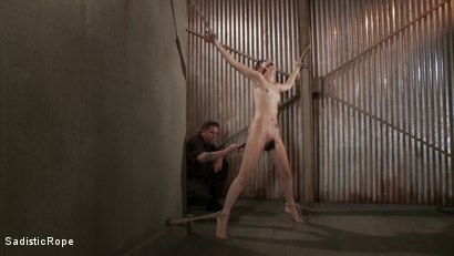 Photo number 6 from How Far Will She Go? shot for Sadistic Rope on Kink.com. Featuring Kristine Kahill in hardcore BDSM & Fetish porn.