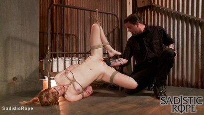 Photo number 3 from Fists of Fury shot for Sadistic Rope on Kink.com. Featuring Mallory Mallone in hardcore BDSM & Fetish porn.