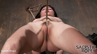 Photo number 2 from Filthy Whore shot for Sadistic Rope on Kink.com. Featuring Coral Aorta in hardcore BDSM & Fetish porn.