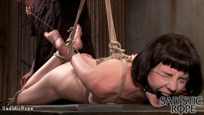 Photo number 14 from Filthy Whore shot for Sadistic Rope on Kink.com. Featuring Coral Aorta in hardcore BDSM & Fetish porn.
