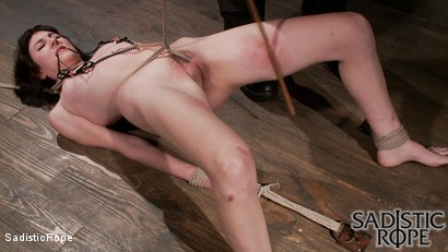 Photo number 16 from Filthy Whore shot for Sadistic Rope on Kink.com. Featuring Coral Aorta in hardcore BDSM & Fetish porn.