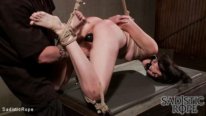 Photo number 4 from Filthy Whore shot for Sadistic Rope on Kink.com. Featuring Coral Aorta in hardcore BDSM & Fetish porn.
