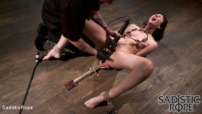 Photo number 5 from Filthy Whore shot for Sadistic Rope on Kink.com. Featuring Coral Aorta in hardcore BDSM & Fetish porn.