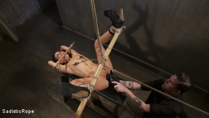 Photo number 6 from Pixie of Pain shot for Sadistic Rope on Kink.com. Featuring Juliette March in hardcore BDSM & Fetish porn.