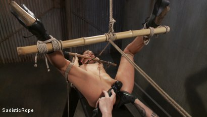Photo number 7 from Pixie of Pain shot for Sadistic Rope on Kink.com. Featuring Juliette March in hardcore BDSM & Fetish porn.