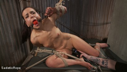 Photo number 9 from Pixie of Pain shot for Sadistic Rope on Kink.com. Featuring Juliette March in hardcore BDSM & Fetish porn.