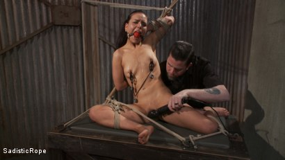 Photo number 8 from Pixie of Pain shot for Sadistic Rope on Kink.com. Featuring Juliette March in hardcore BDSM & Fetish porn.