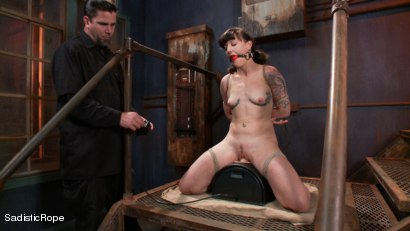 Photo number 12 from Relentless Brutality  shot for Sadistic Rope on Kink.com. Featuring Sahara Rain in hardcore BDSM & Fetish porn.
