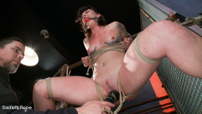 Photo number 4 from Relentless Brutality  shot for Sadistic Rope on Kink.com. Featuring Sahara Rain in hardcore BDSM & Fetish porn.