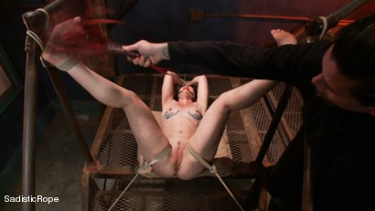 Photo number 5 from Relentless Brutality  shot for Sadistic Rope on Kink.com. Featuring Sahara Rain in hardcore BDSM & Fetish porn.