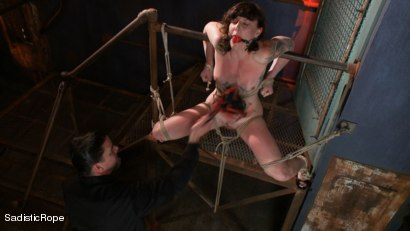 Photo number 3 from Relentless Brutality  shot for Sadistic Rope on Kink.com. Featuring Sahara Rain in hardcore BDSM & Fetish porn.