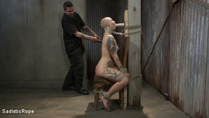 Photo number 2 from Suffering the Consequences shot for Sadistic Rope on Kink.com. Featuring Sparky Sin Claire in hardcore BDSM & Fetish porn.