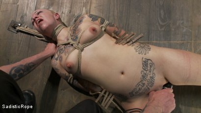 Photo number 6 from Suffering the Consequences shot for Sadistic Rope on Kink.com. Featuring Sparky Sin Claire in hardcore BDSM & Fetish porn.