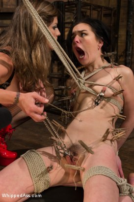 Photo number 4 from Juliette March gets Felony'd shot for Whipped Ass on Kink.com. Featuring Felony and Juliette March in hardcore BDSM & Fetish porn.