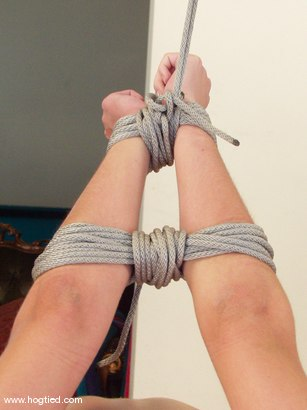 Photo number 8 from Rhiannon Bray shot for Hogtied on Kink.com. Featuring Rhiannon Bray in hardcore BDSM & Fetish porn.