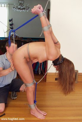 Photo number 7 from Rhiannon Bray shot for Hogtied on Kink.com. Featuring Rhiannon Bray in hardcore BDSM & Fetish porn.
