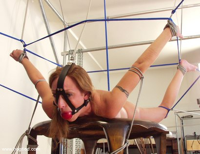 Photo number 10 from Rhiannon Bray shot for Hogtied on Kink.com. Featuring Rhiannon Bray in hardcore BDSM & Fetish porn.