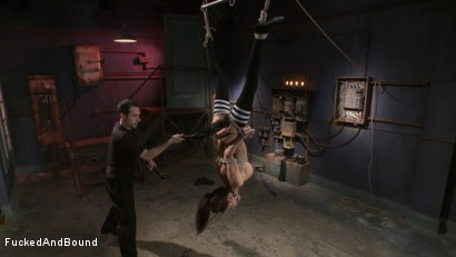 Photo number 11 from Gia DiMarco - Tied Tight and Fucked Hard shot for Fucked and Bound on Kink.com. Featuring Gia DiMarco and Maestro in hardcore BDSM & Fetish porn.
