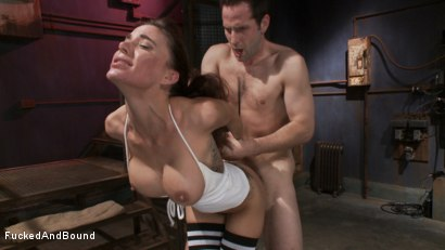 Photo number 12 from Gia DiMarco - Tied Tight and Fucked Hard shot for Fucked and Bound on Kink.com. Featuring Gia DiMarco and Maestro in hardcore BDSM & Fetish porn.