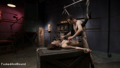 Photo number 13 from Gia DiMarco - Tied Tight and Fucked Hard shot for Fucked and Bound on Kink.com. Featuring Gia DiMarco and Maestro in hardcore BDSM & Fetish porn.