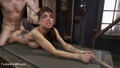 Photo number 10 from Gia DiMarco - Tied Tight and Fucked Hard shot for Fucked and Bound on Kink.com. Featuring Gia DiMarco and Maestro in hardcore BDSM & Fetish porn.